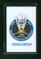 30 Years of the Space Shuttle Program 1981-2011 Challenger Fridge Magnet